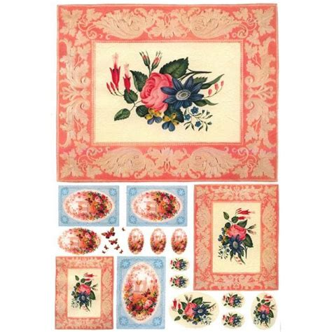 How To Make Rice Paper Sheets - rice paper sheets with vintage images for decoupage