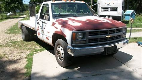 sell used 1994 chevy 3500 dually cheyenne work truck in cassopolis michigan united states for