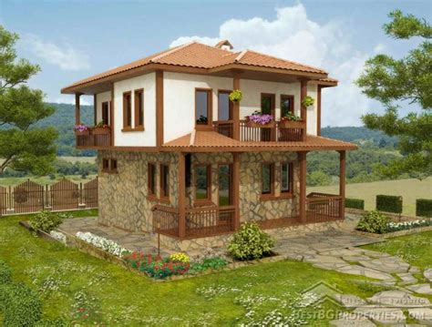 Kerala House Single Floor Plans With Elevations by 2 Storey Traditional Bulgarian House