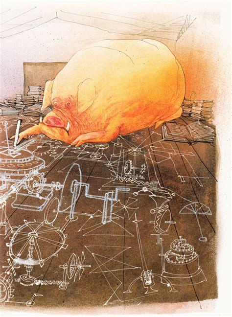 animal farm the illustrated george orwell s animal farm illustrated by ralph steadman brain pickings