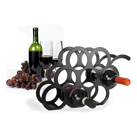 The Wine Rack by Grape Wine Rack By The Metal House Limited