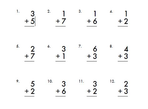 Free 1st Grade Math Worksheets by Addition And Subtraction Create Webquest