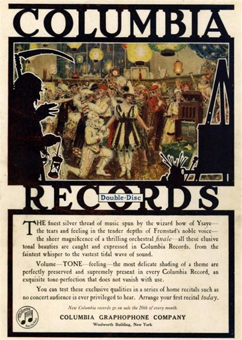 Usa Records Vintage Advertisements Of The 1920s Page 2