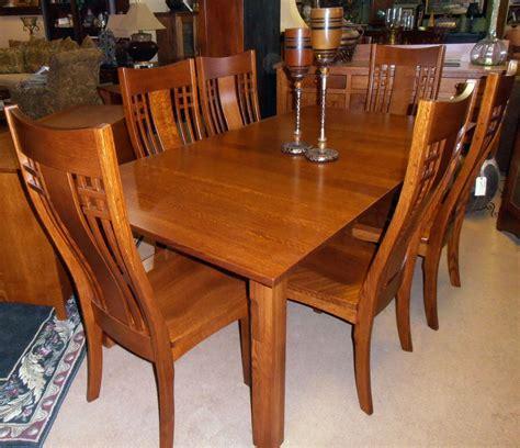 craftsman style dining table craftsman furniture pinterest