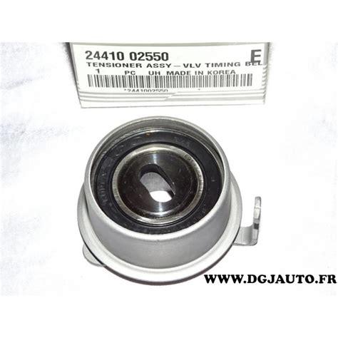 Joint Kia Picanto Hyundai I10 galet tendeur courroie distribution 2441002550 pour