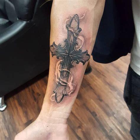 cross tattoos designs  men  women flowertattooideascom