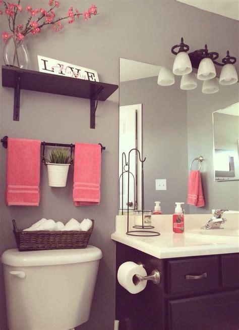 Pink Bathroom Ideas by Best 25 Pink Bathroom Decor Ideas On White