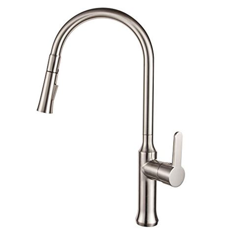 3 hole kitchen faucet with pull out sprayer wow blog lordear commercial touch on swivel spout single handle