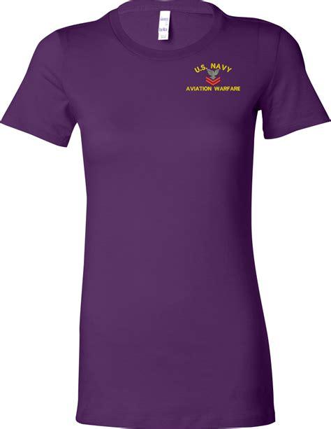custom embroidery shirts custom embroidered u s navy ladies t shirt