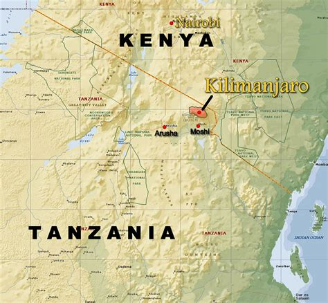 africa map kilimanjaro kilimanjaro locator map kilimanjaro and east africa