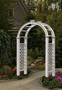 beautify your backyard with a garden arch trellis my