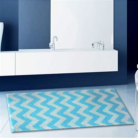 Chevron Bathroom Rug Mondrian Chevron Bath Rug Kassatex Chevron Bathroom Rug