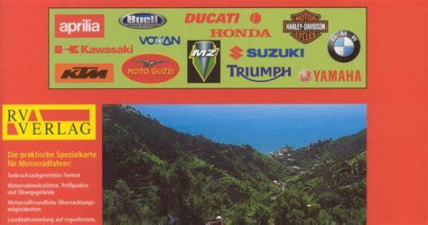Motorrad Reisekarten Deutschland by Landkartenblog Neu Rv Motorrad Reisekarten Italien Und