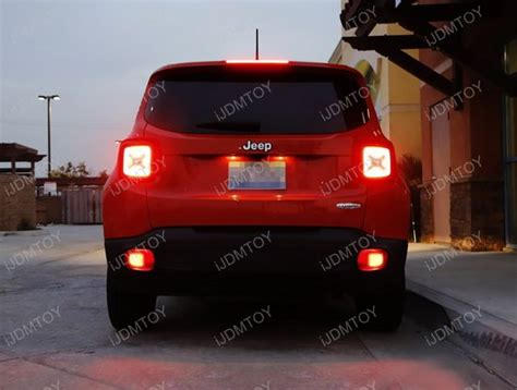 jeep renegade lights 2015 up jeep renegade led rear fog light kit with led
