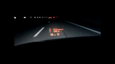 Bmw 1er Head Up Display by Bmw E60 Head Up Display Sprachfunktion Youtube