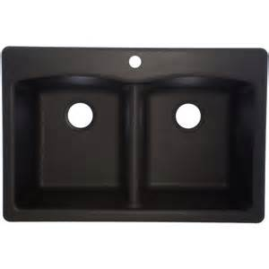 shop franke ellipse 33 in x 22 in onyx basin
