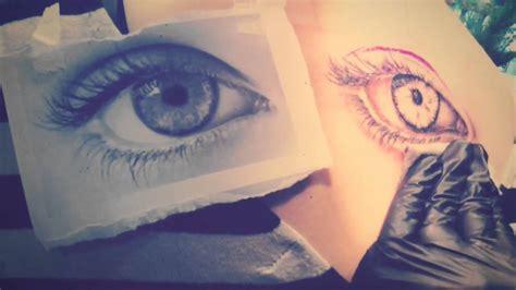 tattoo eye youtube realistic eye tattooed by lou bragg youtube