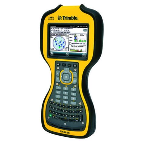Rugged Handheld Pc by Trimble Ranger 3xc Rugged Handheld Computer