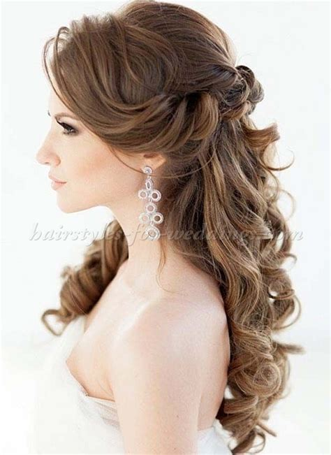 Up Hairstyles by Half Up Half Wedding Hairstyles Half Up Half
