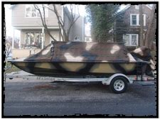 layout boat open water bankes boats freedom 17 open water duck hunting boat