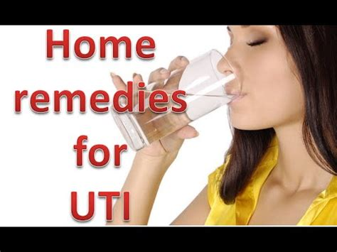 home remedies for urinary tract infection or uti urine