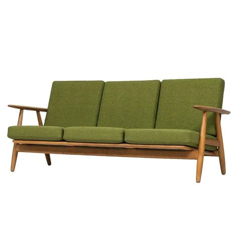 wegner sofa hans wegner sofa model ge 240 by getama in denmark for