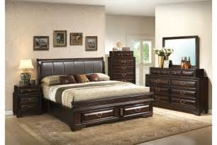 Kingsize Bedroom Set Bedroom Sets Coast Cappuccino King Size Storage