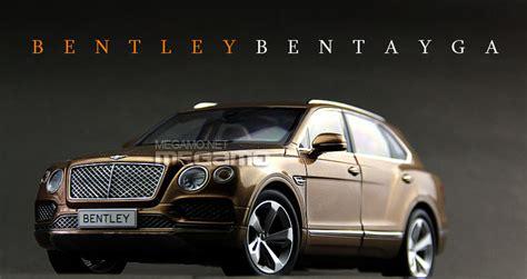 bentley bentayga trunk 1 18 kyosho bentley bentayga suv bronze 2016 08921bz