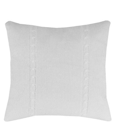 cable knit throw pillows cable knit large throw pillow ivory high market