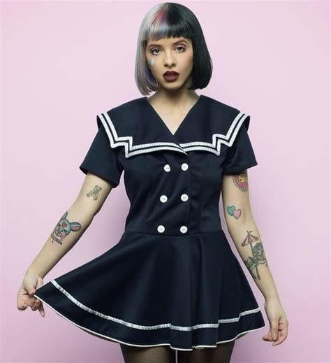 Dress Sailor dress sailor dress melanie martinez sailor black dress