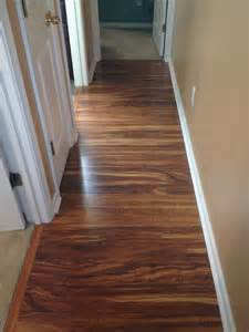 hallway pergo xp in hawaiian curly koa pergo