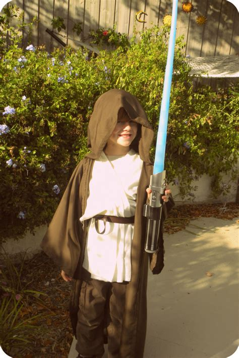 star wars homemade lawn diy wars jedi costume kerryannmorgan