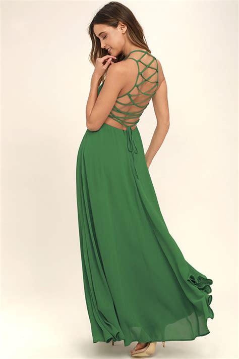 Trand Maxi Zamirah 3in1 Green New chic green dress lace up dress backless dress maxi dress 56 00