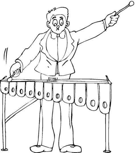 free coloring pages of xylophone free x is for xylophone coloring pages