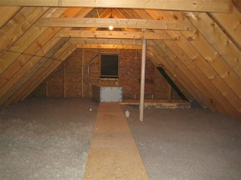 Attic Floor by Attic And 2nd Floor Insulated Up Hill House