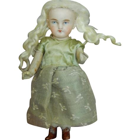 antique bisque german doll sweet antique german all bisque doll from kimsdollgems on
