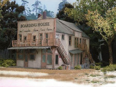boarding house product details at rusty stumps scale models ho scale kelleys boarding house kit ho kits