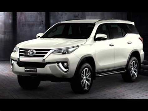 new fortuner 2016 youtube 2016 toyota fortuner body kit 2016 toyota ราคา all new toyota fortuner 2015 2016 โตโยต า ฟอร จ นเนอร