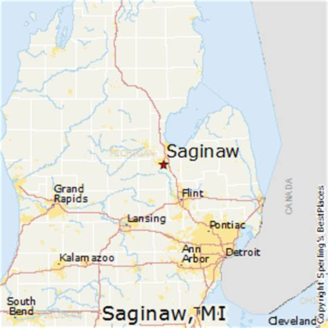 map of saginaw mi best places to live in saginaw michigan