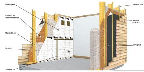 architecture bois magazine schema toit isolation murs