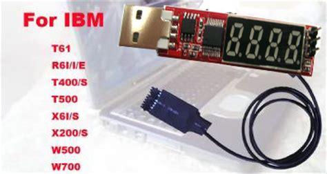 Debug Card Usb notebook laptop i2c battery port usb diagnostic debug post card tester for ibm sintech adapter