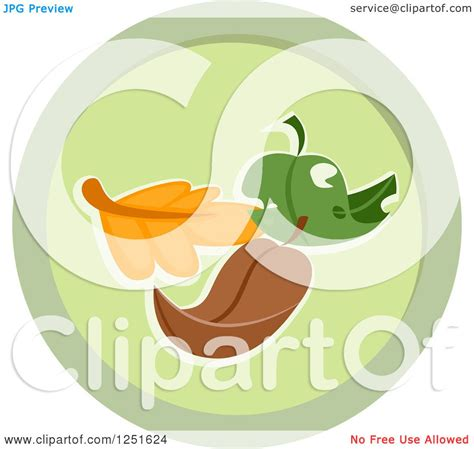 roundhouse stock images royalty free images vectors clipart of a round green leaf composing icon royalty