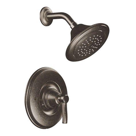 Moen Shower Doors Moen Rothbury Posi Temp 1 Handle Shower Only In Rubbed Bronze Valve Not Included Ts2212orb
