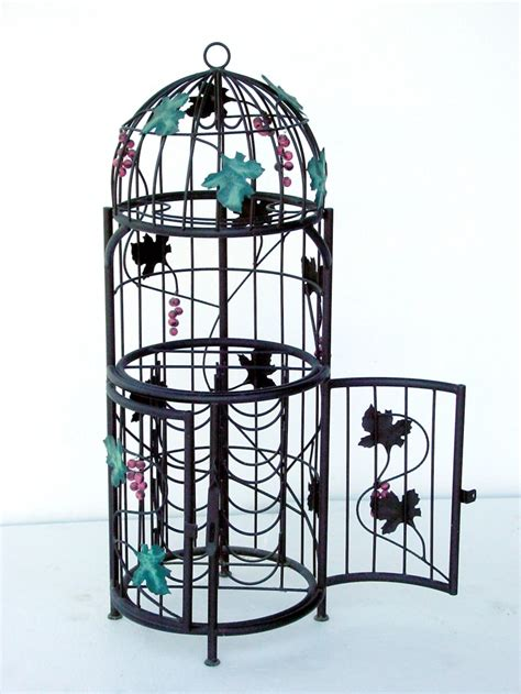 Bird Cage Wine Rack by Pop Decoration Furniture Accessories Bird Cages