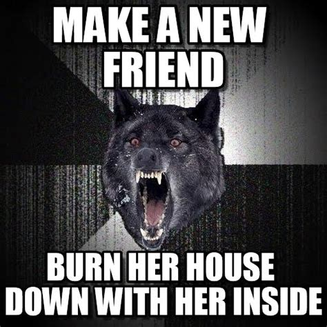 Wolf Memes - insanity wolf meme