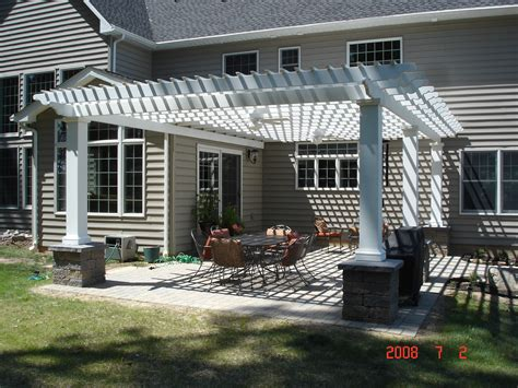 Patio Attached To The House pergolas alfresca outdoor living