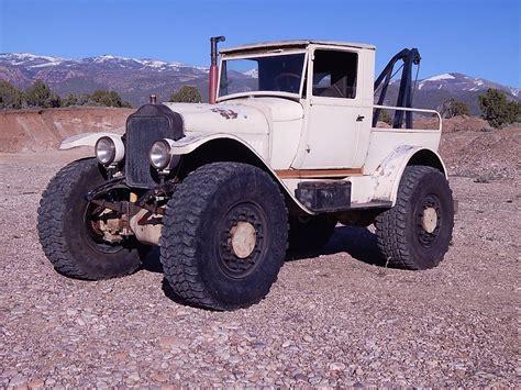 cummins truck white custom tow truck with a 4bt engine swap