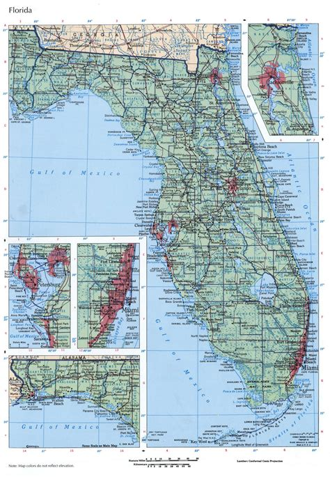detailed map of florida detailed map of florida image collections diagram