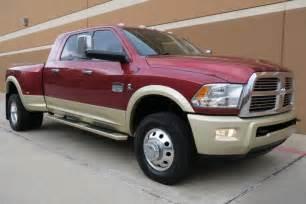 Dodge Ram 3500 Longhorn 2012 Dodge Ram 3500 Laramie Longhorn Mega Cab Dually 4wd