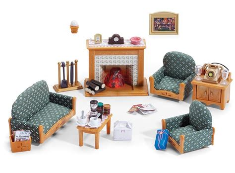 Pretend Kitchen Furniture calico critters deluxe living room set furniture